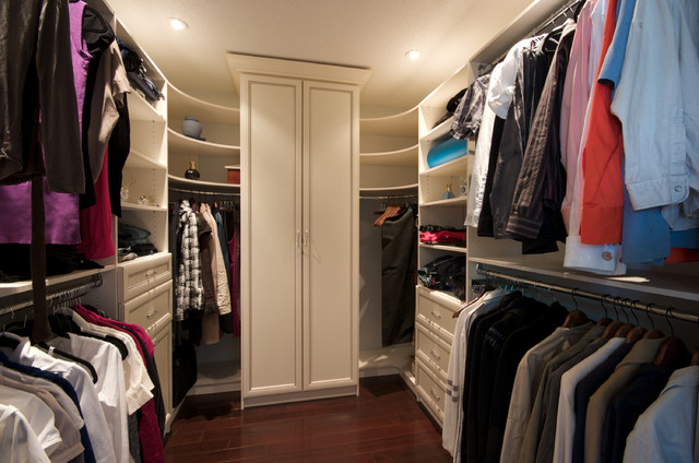 Gun Safe Contemporary Closet