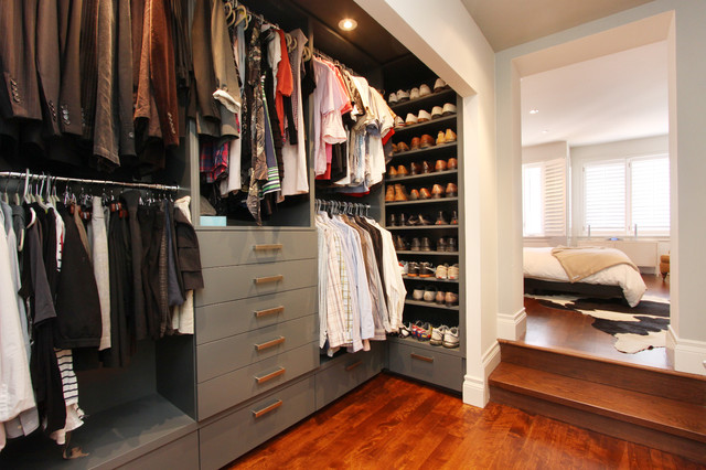 Hall Developments Latimer Project contemporary-closet