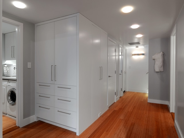 Hallway Closet - modern - closet - boston - by Hart Associates ...