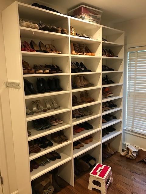 Hawks Custom Walk-in Closet - Greenville. SC