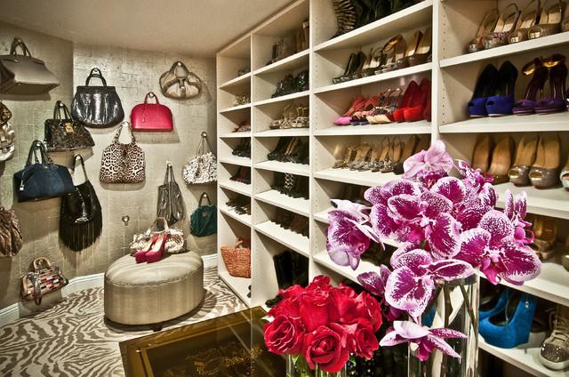 Eclectic Closet Idea In Los Angeles