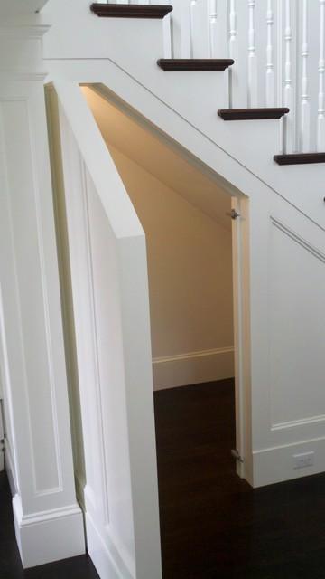 hidden door under stairs 2