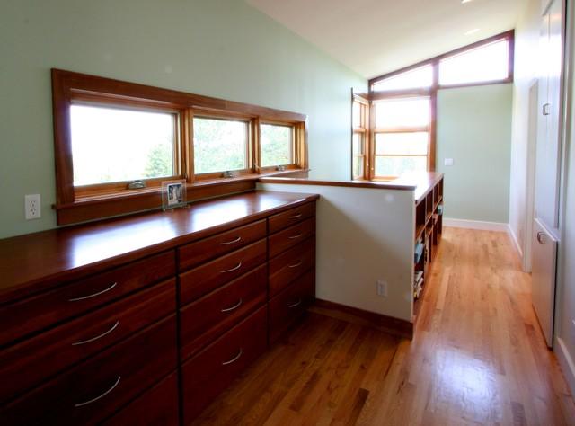Closet - craftsman closet idea in Denver