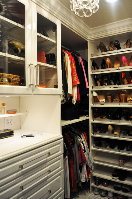 His and Her Master Closets - Transitional - Closet - minneapolis - by California Closets Twin Cities