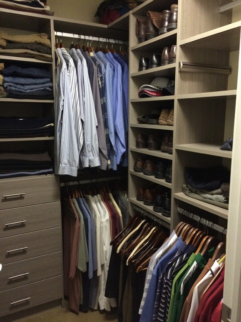 His and hers walk in closets contemporary chicago by for His and hers closet
