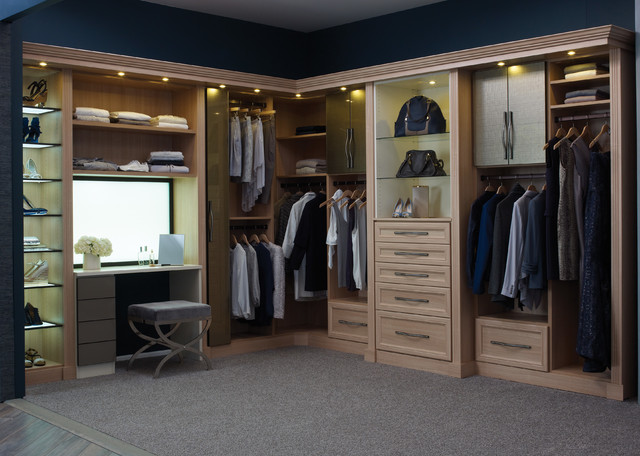 His hers luxury closet for His and hers closet