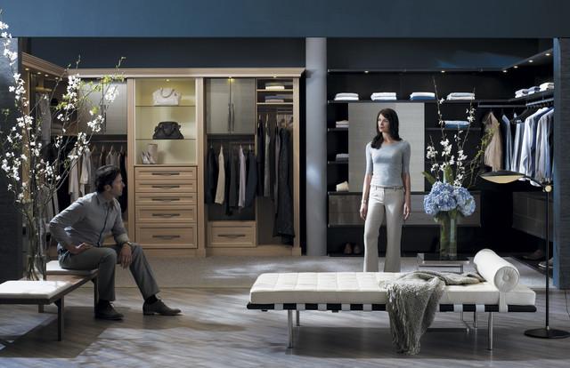 Luxury Closets his/hers luxury closet