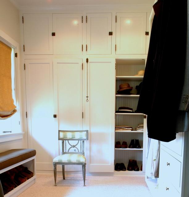 Historic craftsman for Closet design los angeles