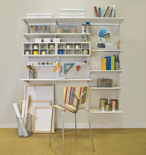 Hobby Room Organization With Orgnaized Living FreedomRail
