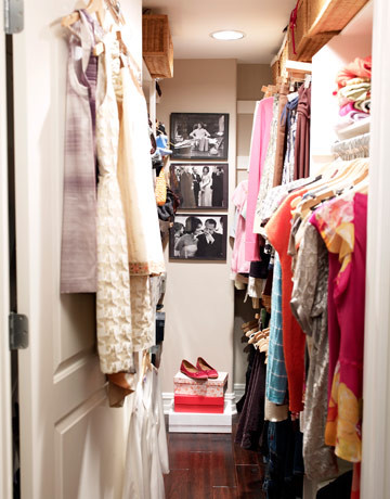 Hollywood Regency Style Decorating eclectic-closet