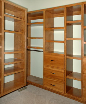 Hollywood Woodshop Closets  closet