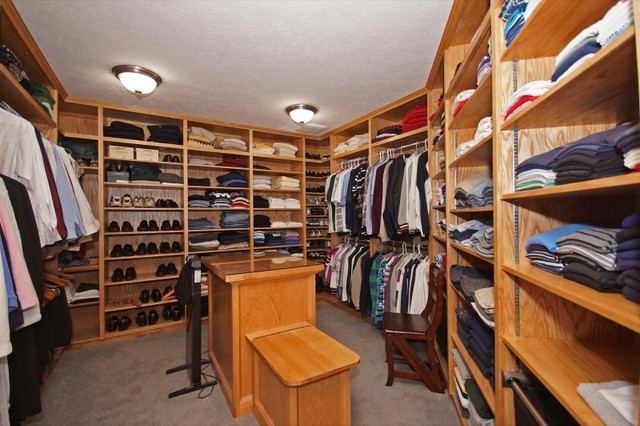 Holt Family Home Addition & Remodel traditional-closet