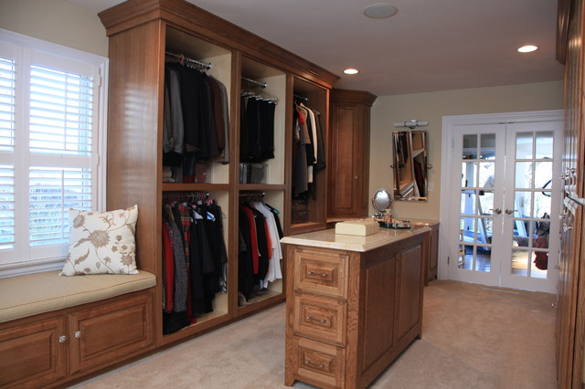 House Renovation traditional-closet