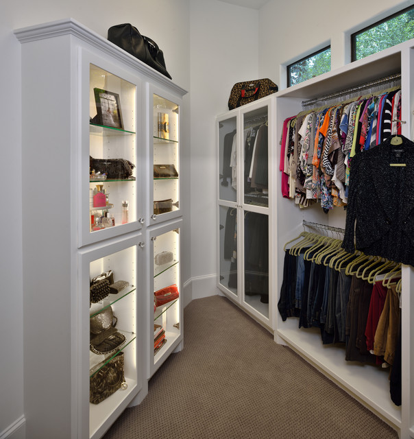 Houston - Traditional - Closet - houston - by Vining Design Associates