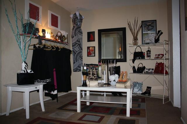 Ideas For Home Boutique Contemporary Closet Houston By Carol Studio Interiors