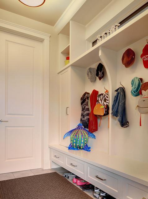 Inner City Home contemporary-closet