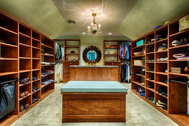 Irvington Master Bedroom Suite Traditional Closet Metro Wooden Walk Design