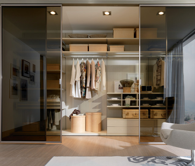 Italian closets modern closet other metro by for Italian closet design