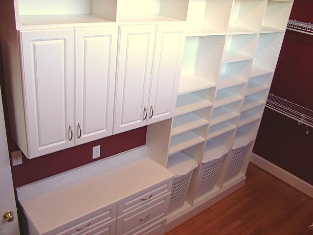 Jacksonville Addition traditional-closet