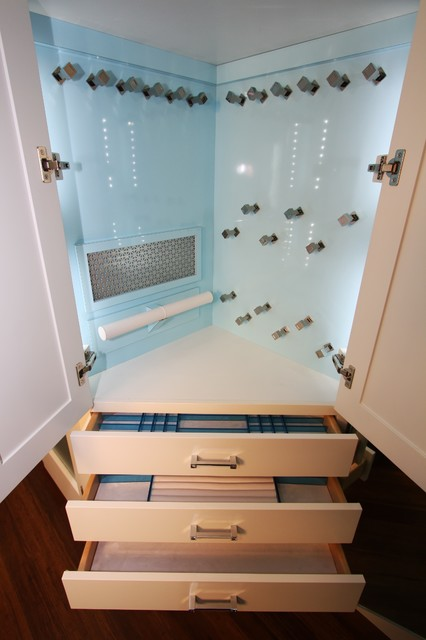 Jewelry Cabinet - Contemporary - Closet - Cleveland - by ...
