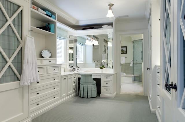 KBK Interior Design Portfolio traditional-closet