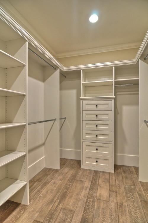 Delightful What Closet System Is This? If Custom Made   What Is Used To Keep The  Vertical Boards Up, Particle Board?