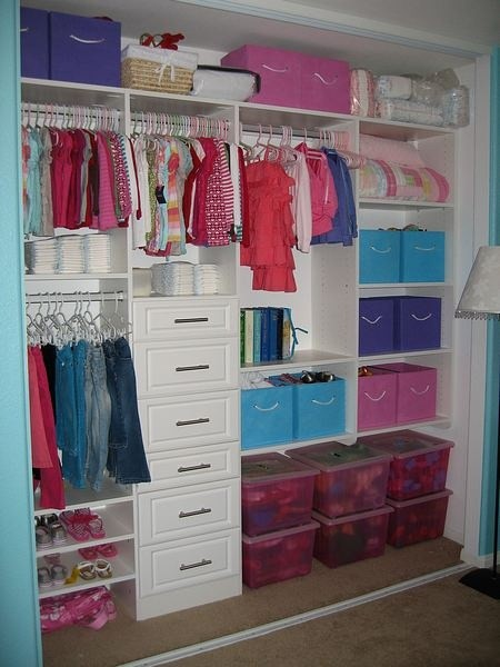 Kids closets and spaces traditional closet