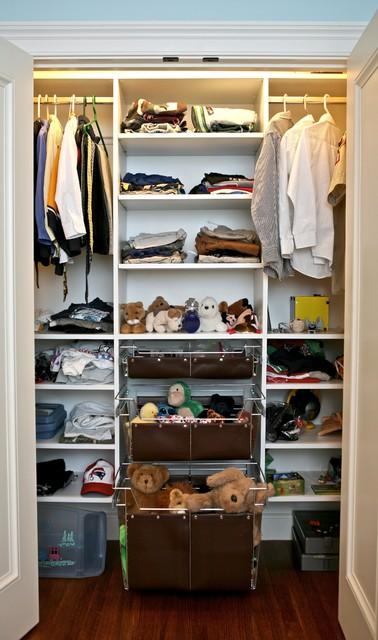Kids custom closets traditional-closet