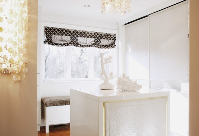 La Sublime contemporary-closet