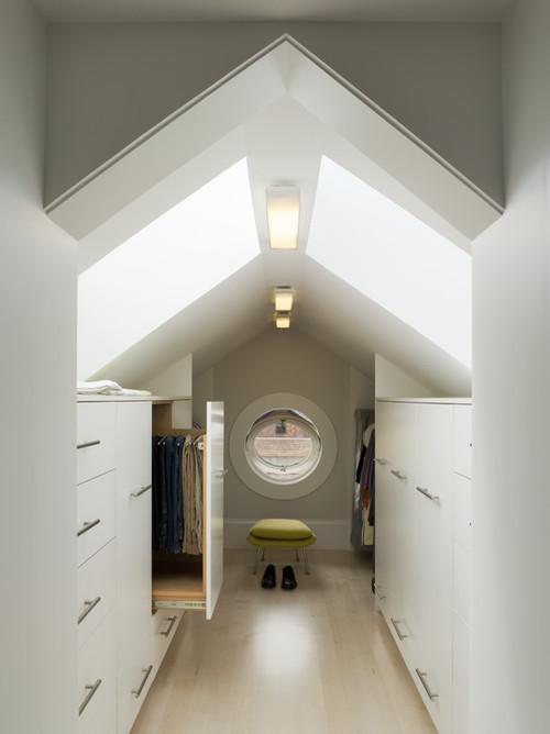 attic wardrobe ideas - Attic Works Walk in closets