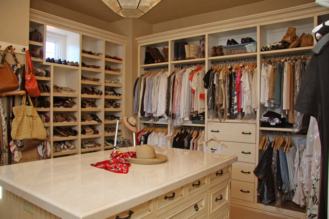 Landmark Builders - Custom Home Builder mediterranean-closet