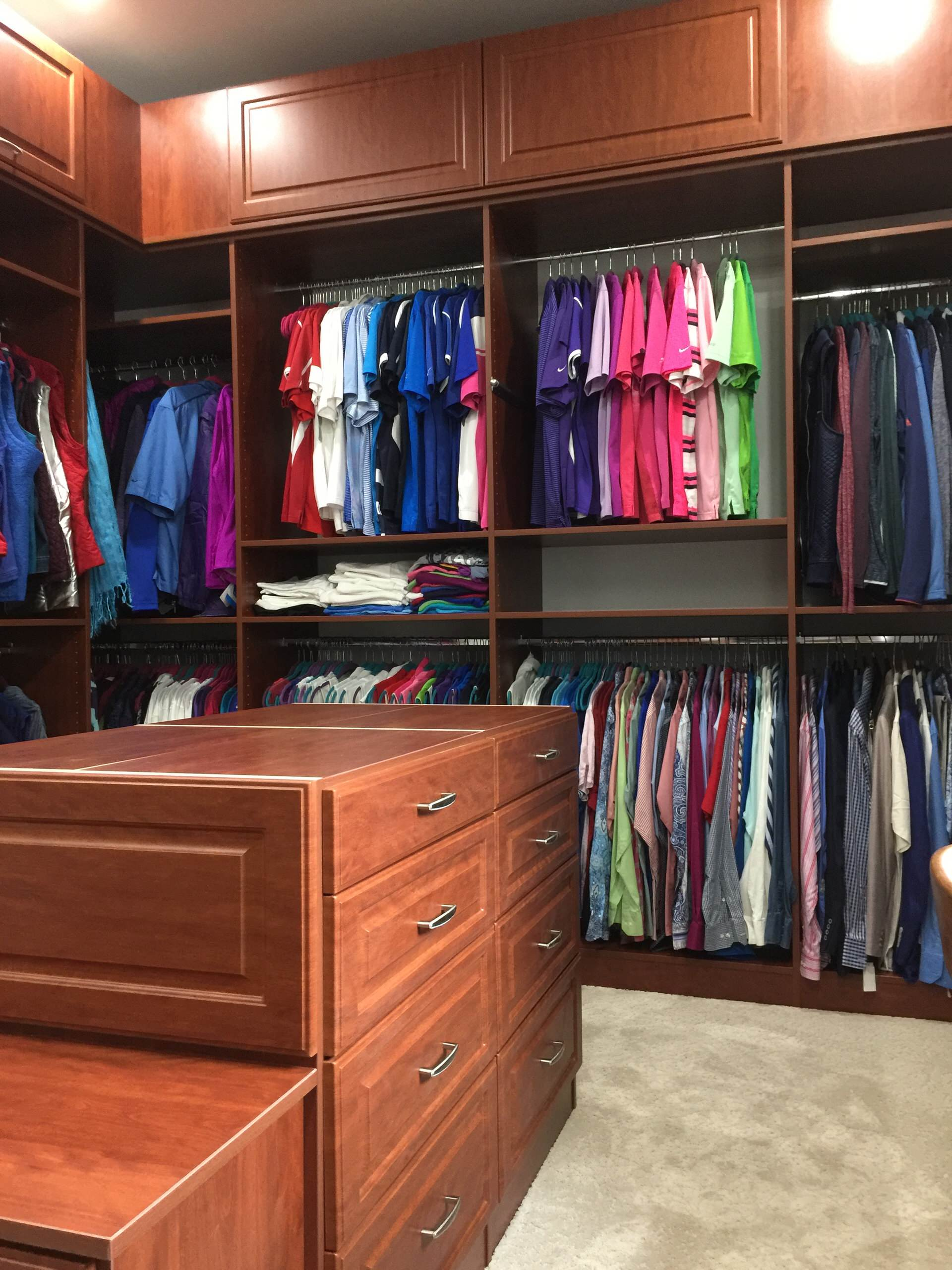 Large Walk-in Closet and Laundry Room in Balsam, NC