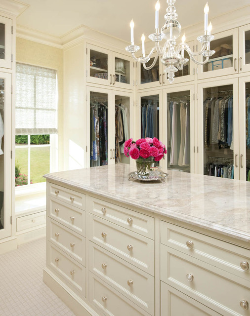 Larry E. Boerder Architects - Holloway traditional-closet
