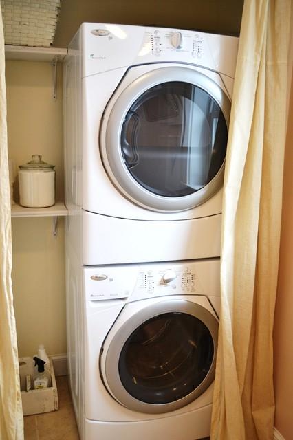 Laundry Closet eclectic-closet
