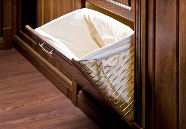 Laundry Hamper - Traditional - Closet - other metro - by Organized Interiors