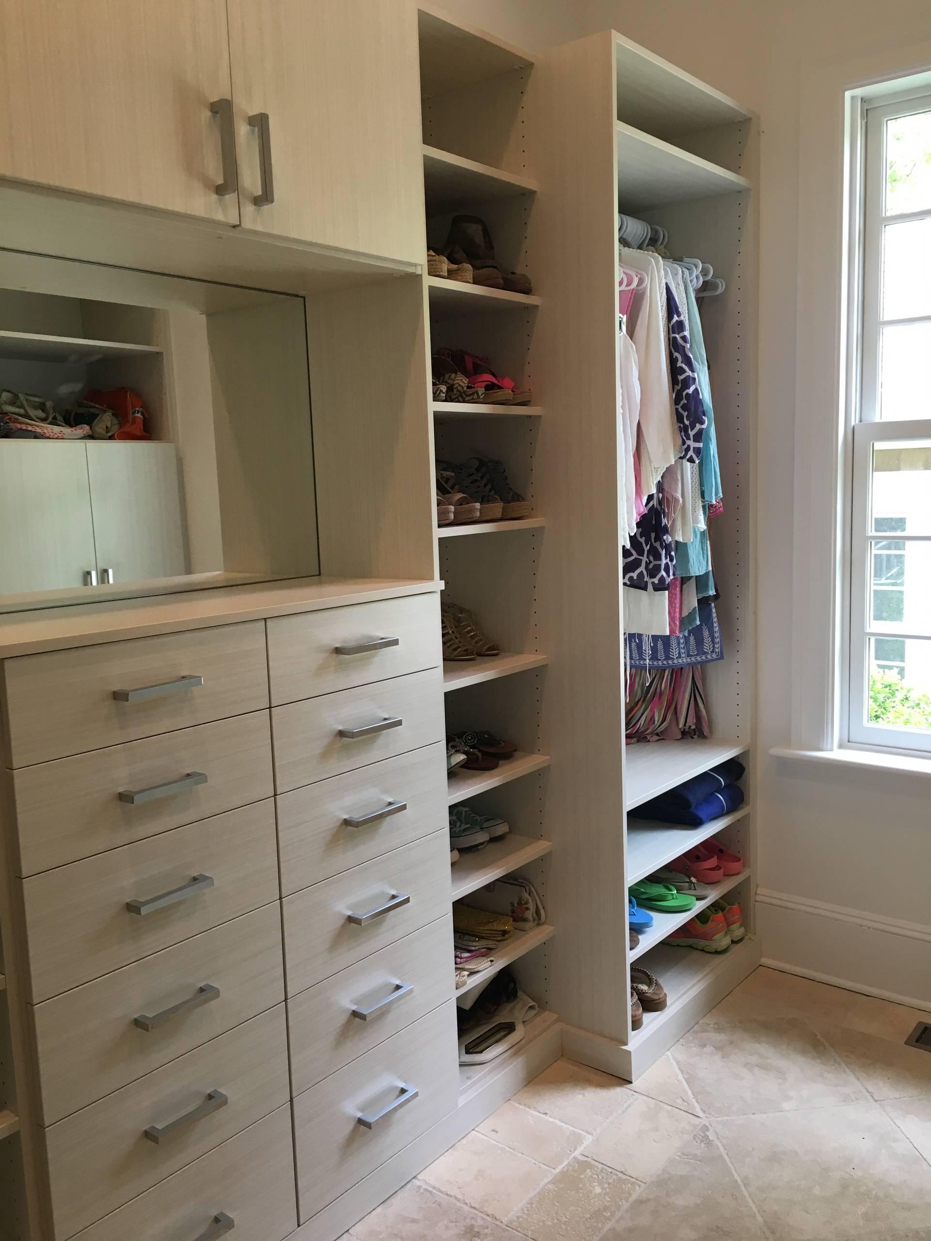 Laundry Room/Dressing Room Makeover