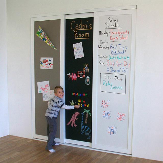 Learning Amp Display Sliding Closet Doors Traditional