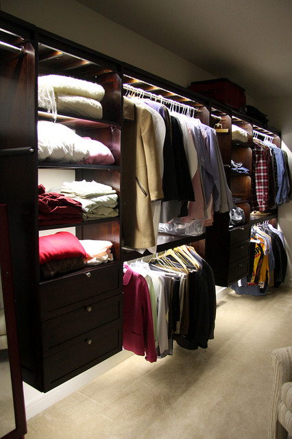Led Closet Lighting Traditional Closet St Louis By