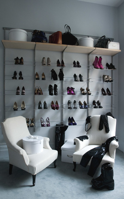 Little Bit of This and That contemporary-closet