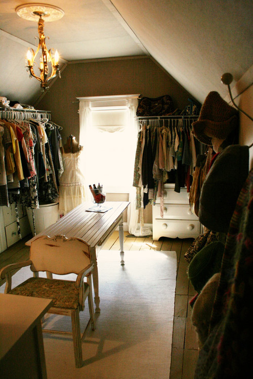 traditional closet Cozy Attic Conversions