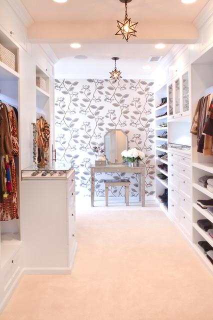 Los Feliz, CA Project transitional-closet