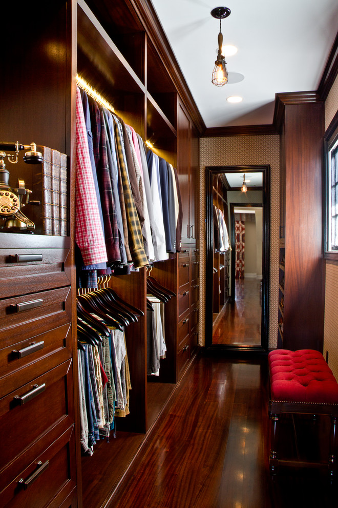 Closet - contemporary closet idea in Los Angeles