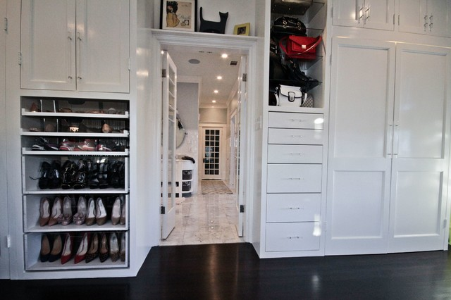 Lux Home Dressing Room transitional-closet
