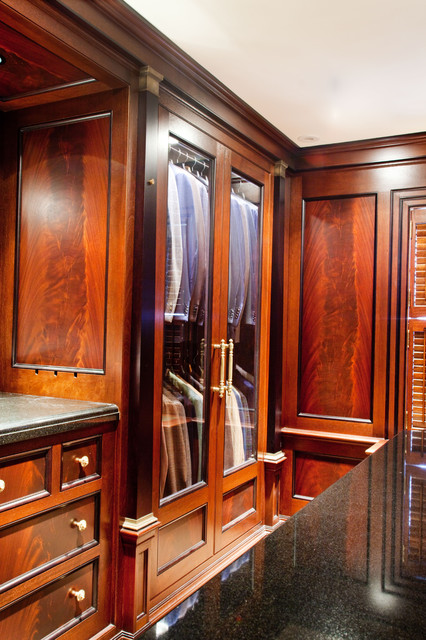 Luxurious Dressing Rooms Traditional Closet Boston