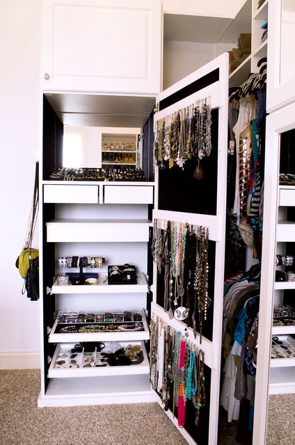 Luxurious Walk In Closet - Traditional - Closet - indianapolis - by California Closets of ...