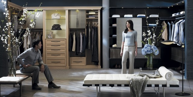 Luxurious Walk In Closets Contemporary Closet