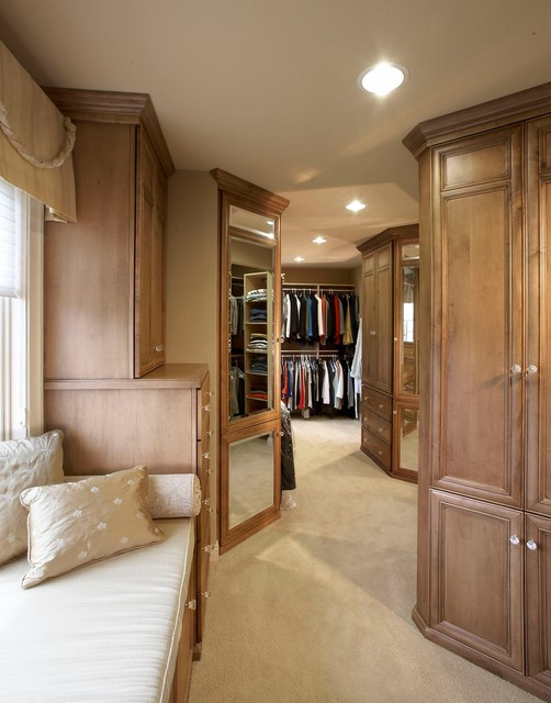 luxury master bedroom suite traditional closet