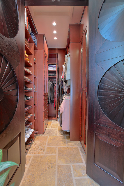 Luxury Master Suite traditional-closet