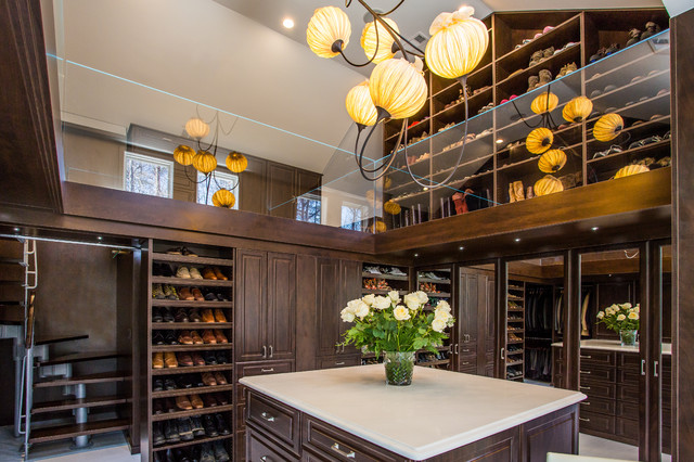 Luxury Two Story Master Closet