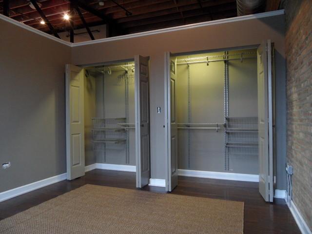 Madison Street Loft industrial-closet